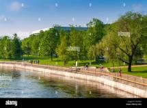 Tartu Estonia Landscape Stock &