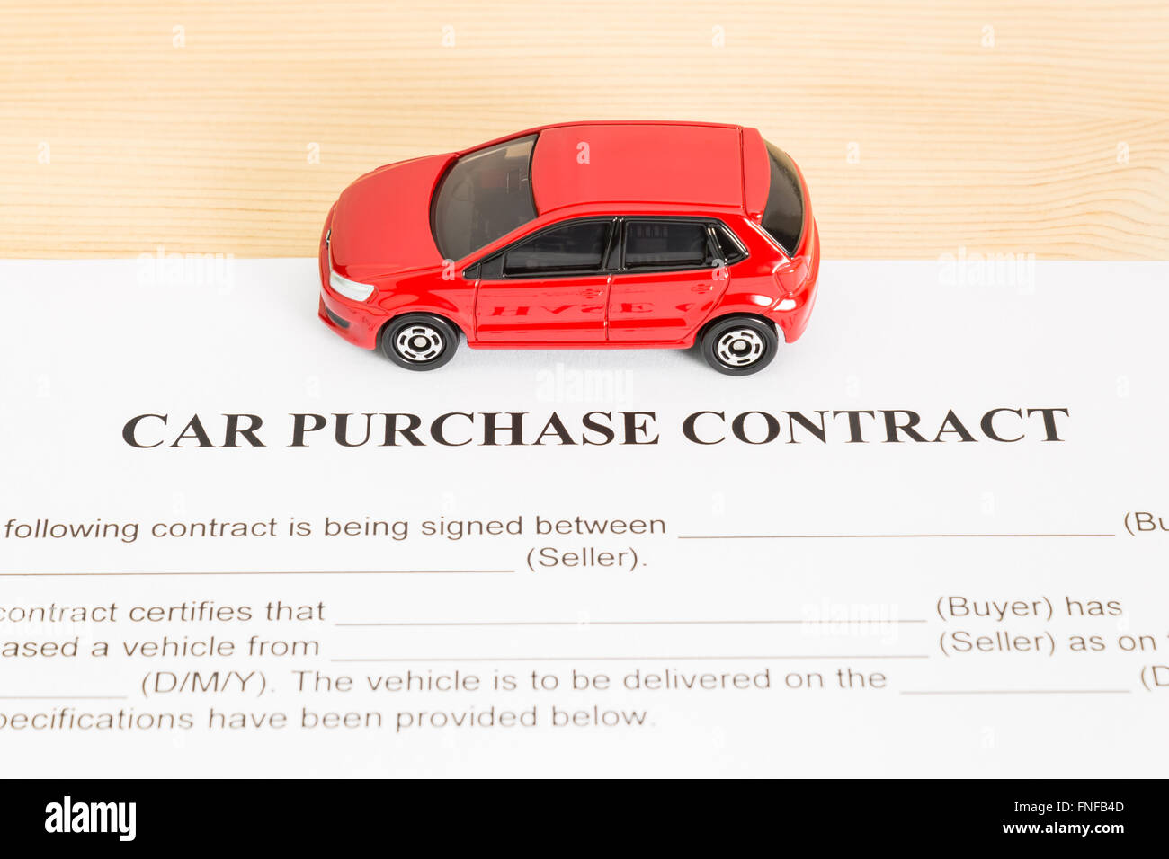 Car Purchase Contract Stock Photos & Car Purchase Contract Stock ...