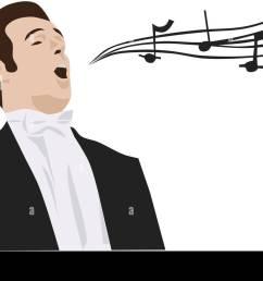 man singing opera vector stock vector [ 1300 x 845 Pixel ]