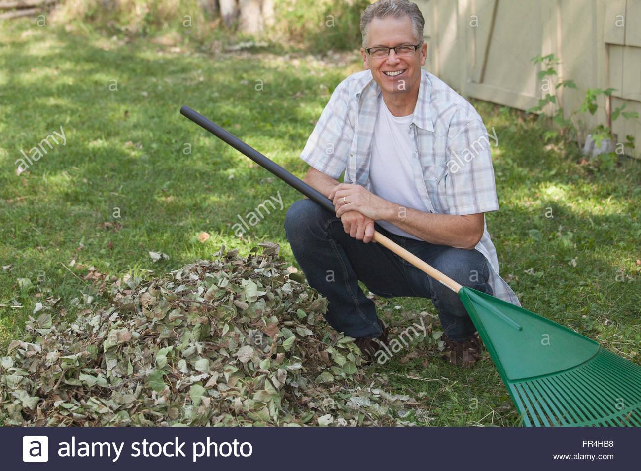 Picks Leaves Lawn Mower