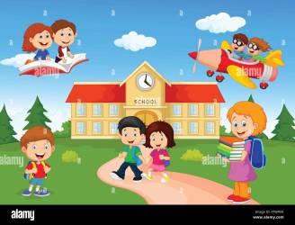 cartoon scuola children happy bambini sfondi immagini sfondo