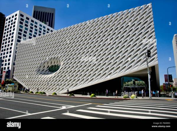 Broad Contemporary Art Museum In Downtown Los Angeles