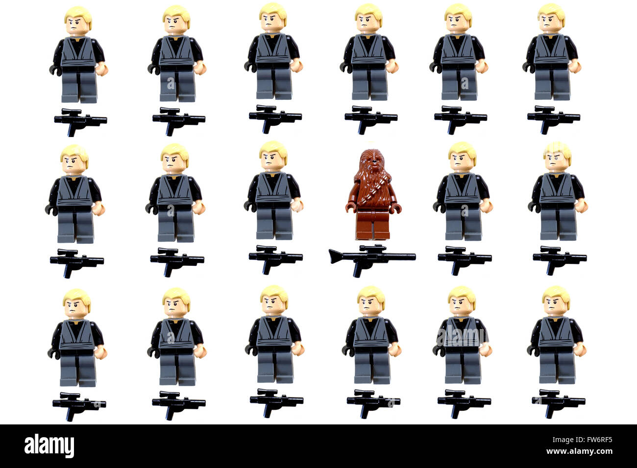 Every Lego Star Wars Buildable Figure Set Complete Collection