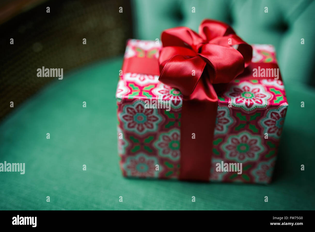 small wrapped christmas gift