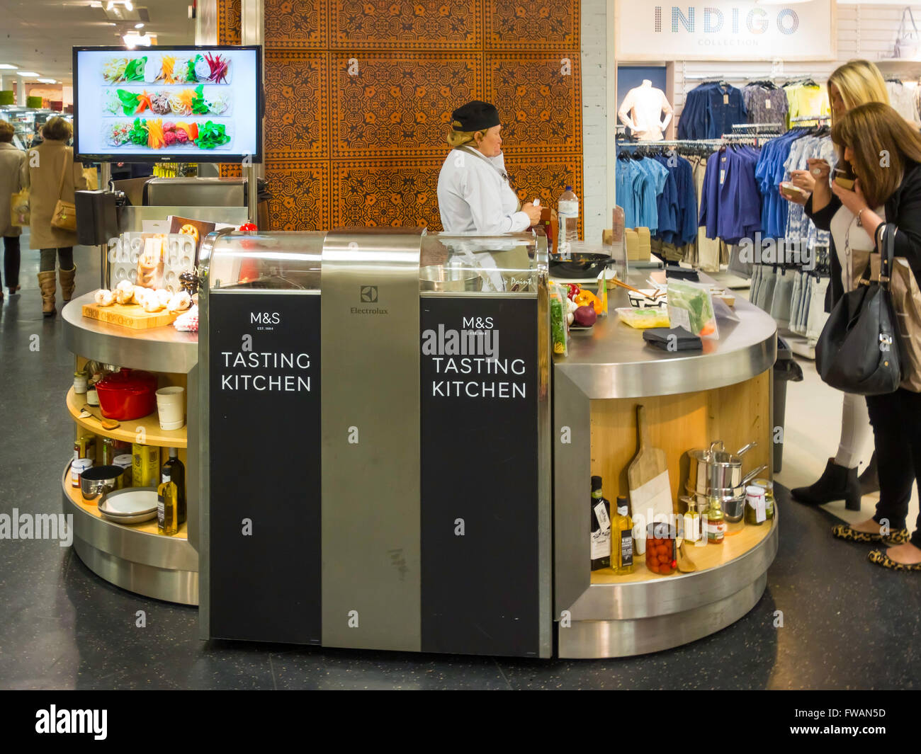 online kitchen store sieve marks and spencer in tasting where customers
