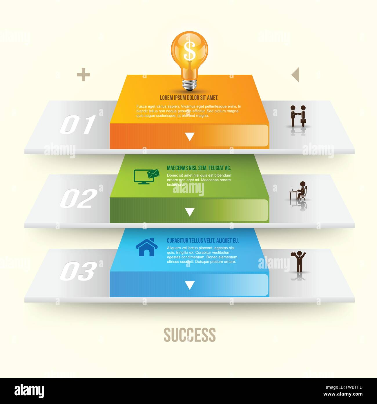 hight resolution of vector light bulb infographic template for lamp diagram graph presentation chart business startup idea concept with 3 optio