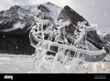 Lake Louise Canada Ice Sculpture