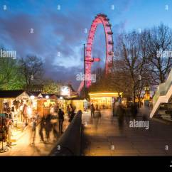 Revolving Chair Thames Dining Seat Covers John Lewis Jubilee Gardens London Stock Photos And