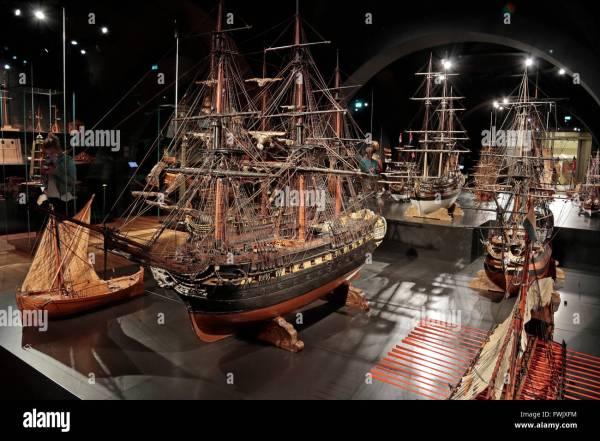 Ship Model Display Room