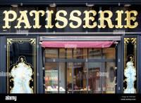 French Bakery Shop Stock Photos & French Bakery Shop Stock