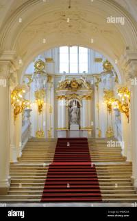 The State Hermitage Museum. Winter Palace. The Jordan