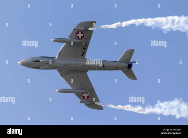 Swiss Air Force Hawker Hunter T.68 Two Seat