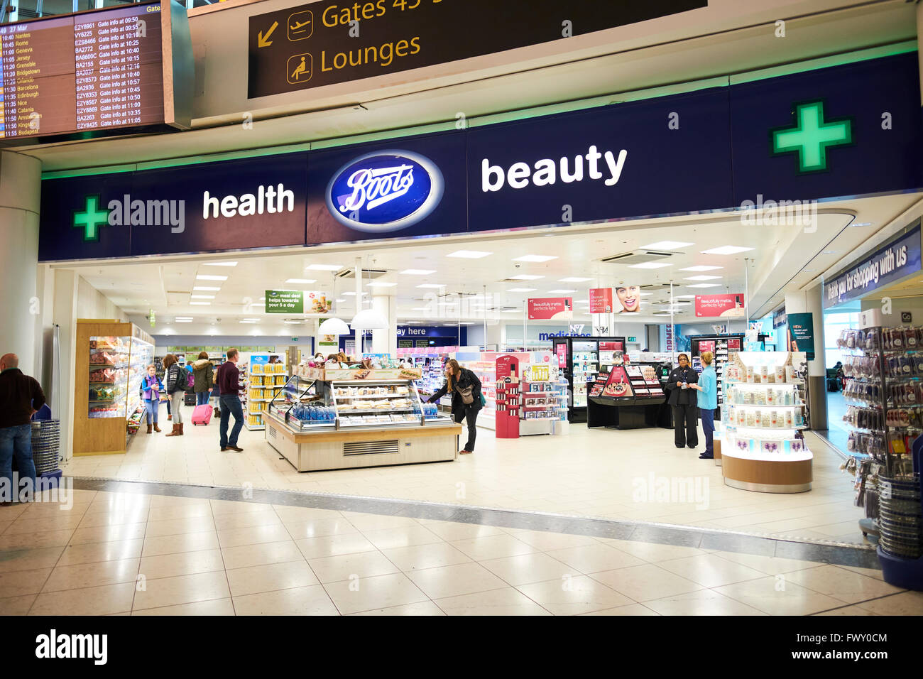 Boots Health And Beauty Duty Free Shop North Terminal