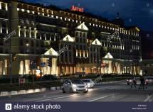 Hotel Marriott In Krasnaya Polyana Sochi Russia Stock