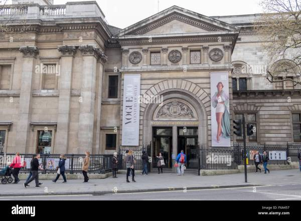 Entrance National Portrait Charing Cross Road Stock 102255699 - Alamy