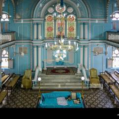 Star Sofa Mumbai Maharashtra Grey Bed Dfs India Bombay Knesset Eliyahoo Synagogue Stock Photo