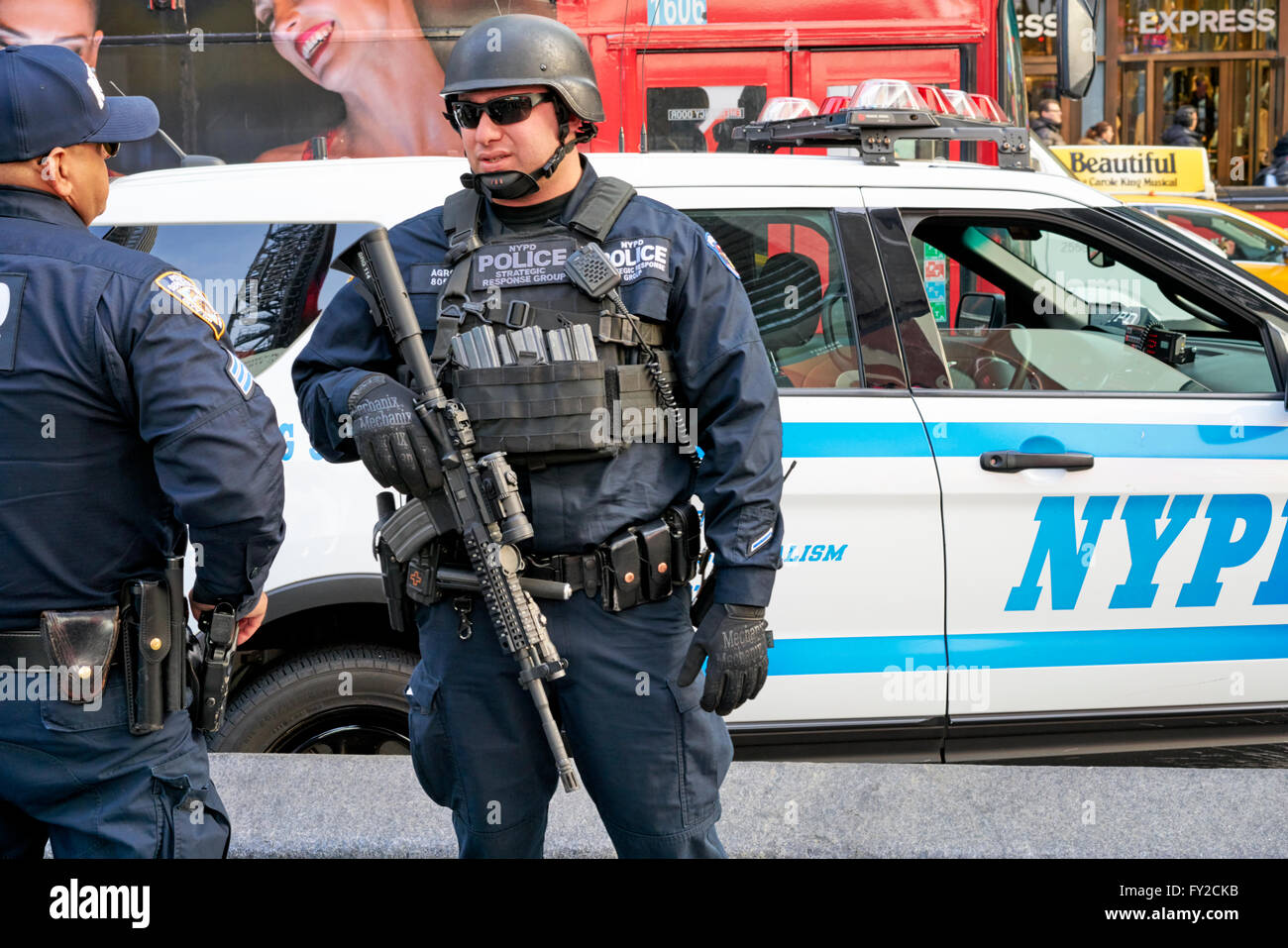 Armed Security Guard New York