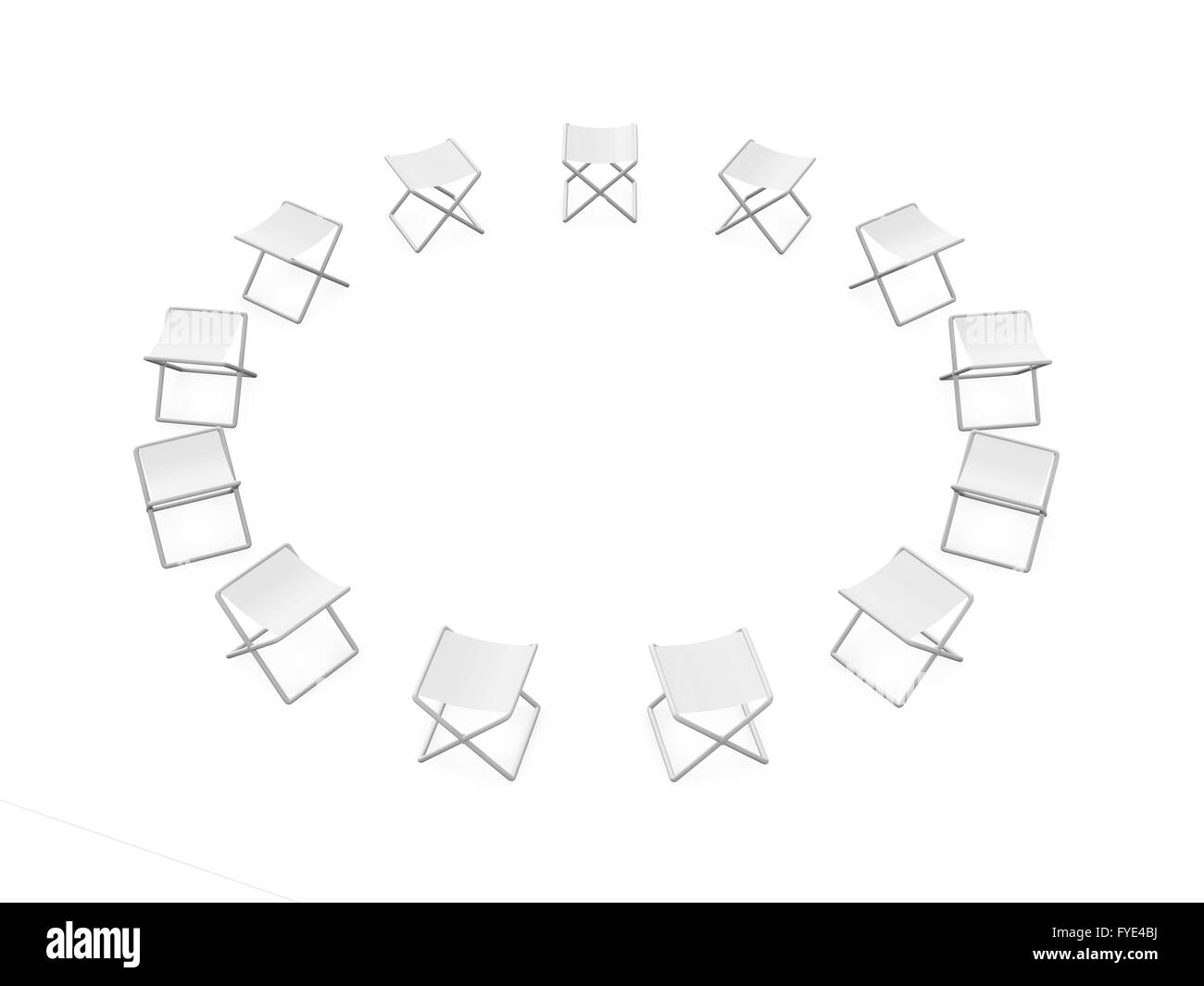 folding circle chairs desk chair costco of stock photo 102958342 alamy