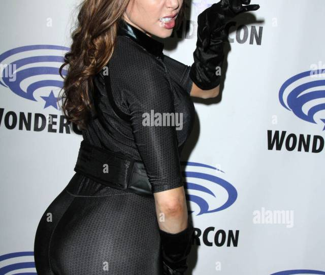 Playboy Model And Dating Consultant Erika Jordan Visits Wondercon 2016 At The Los Angeles Convention Center Featuring Erika Jordan Where Los Angeles