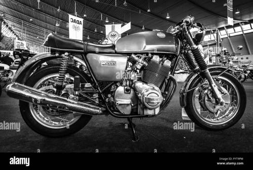 small resolution of the serial model motorcycle laverda 1000 1 1972 stock image
