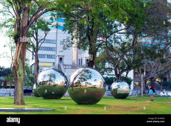 South East Asia Singapore Outdoor Art Installation