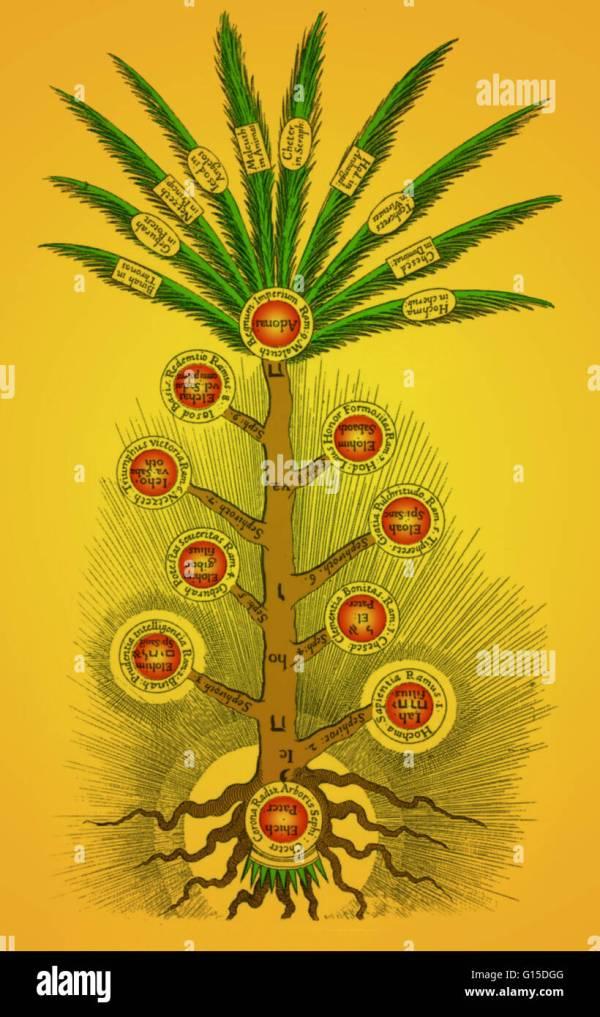 Tree Of Life Kabbalah Stock &