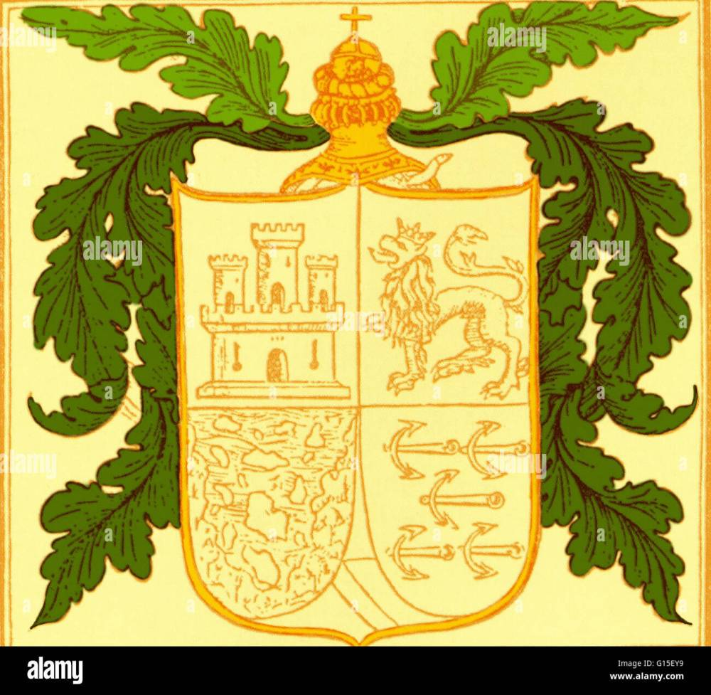 medium resolution of coat of arms of christopher columbus