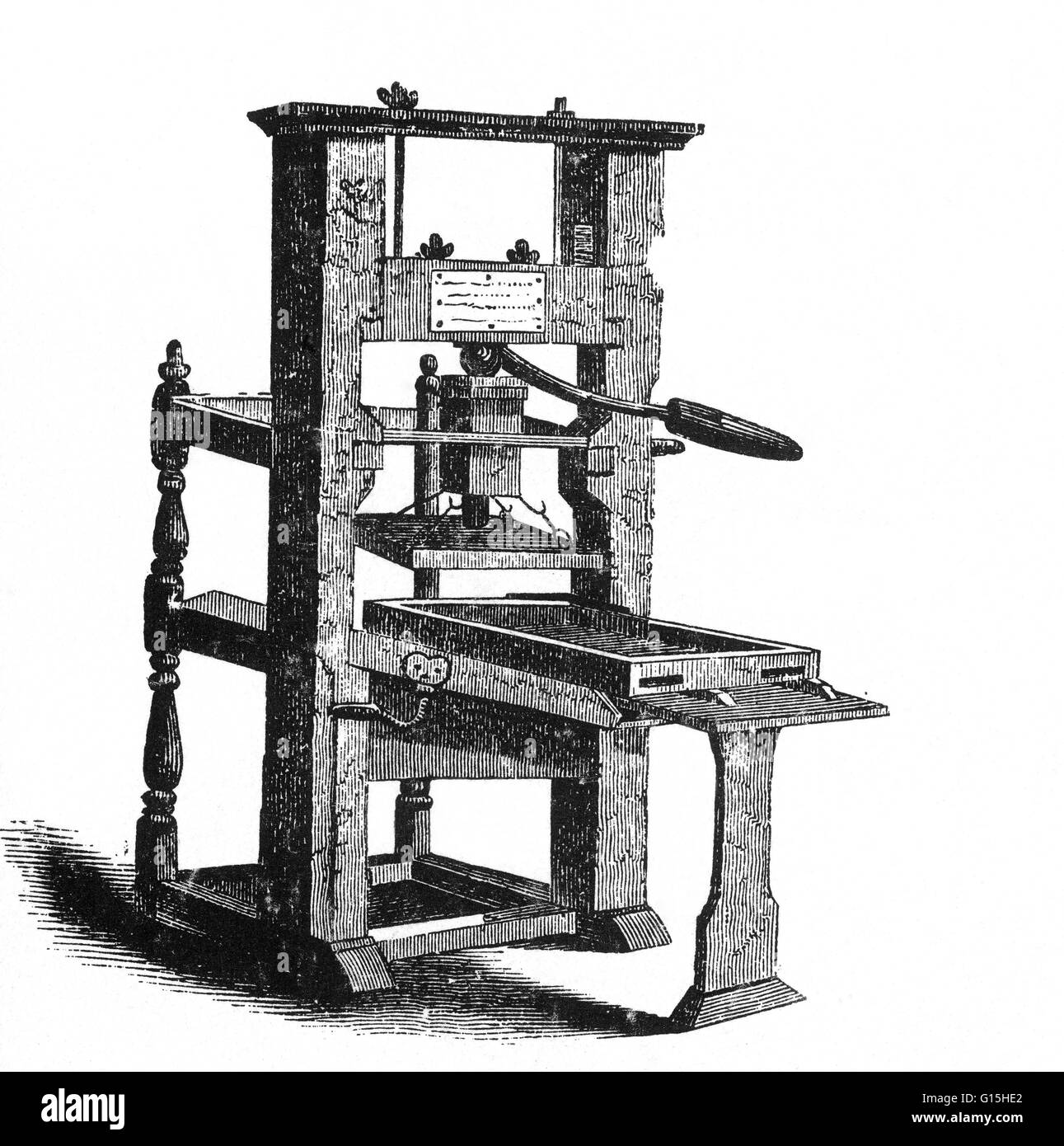 Benjamin Franklin S Printing Press Benjamin Franklin