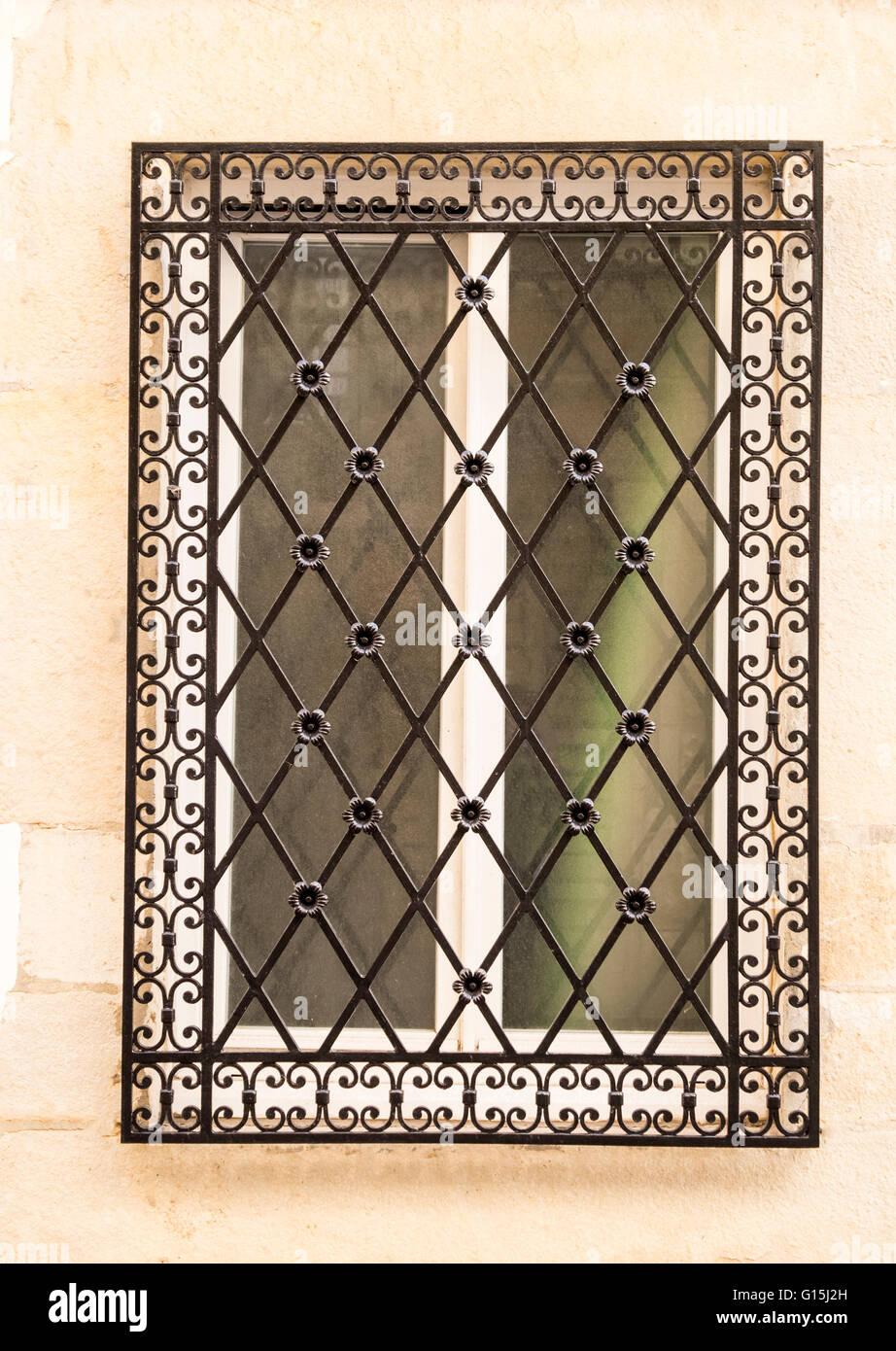 Decorative window grill Stock Photo: 104000809