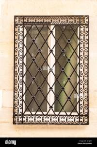 Decorative window grill Stock Photo: 104000809