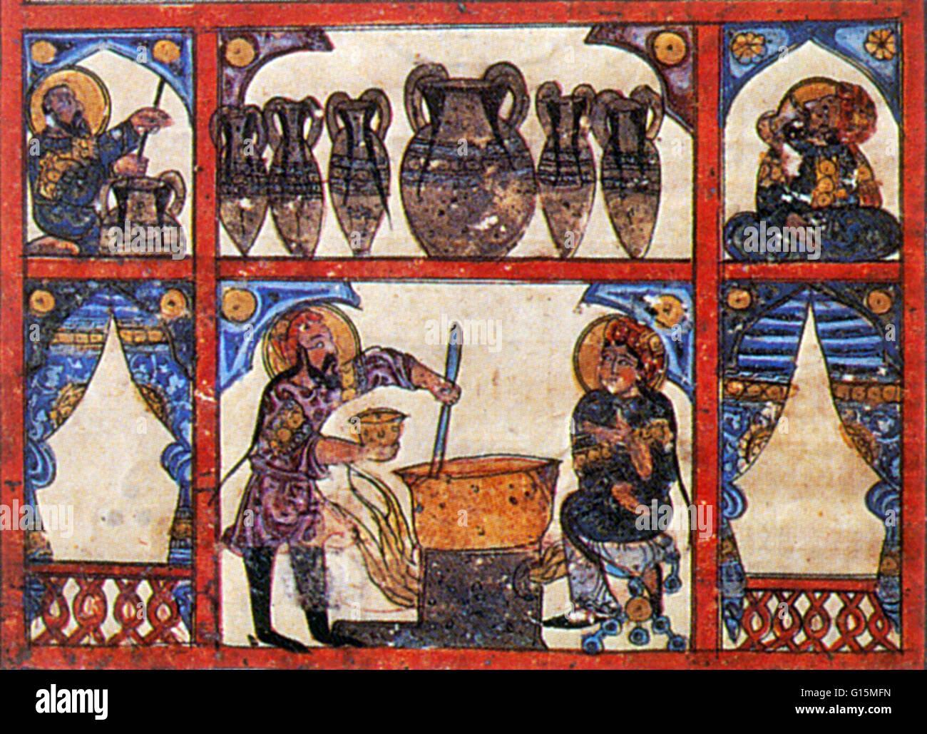 arabic artwork entitled the