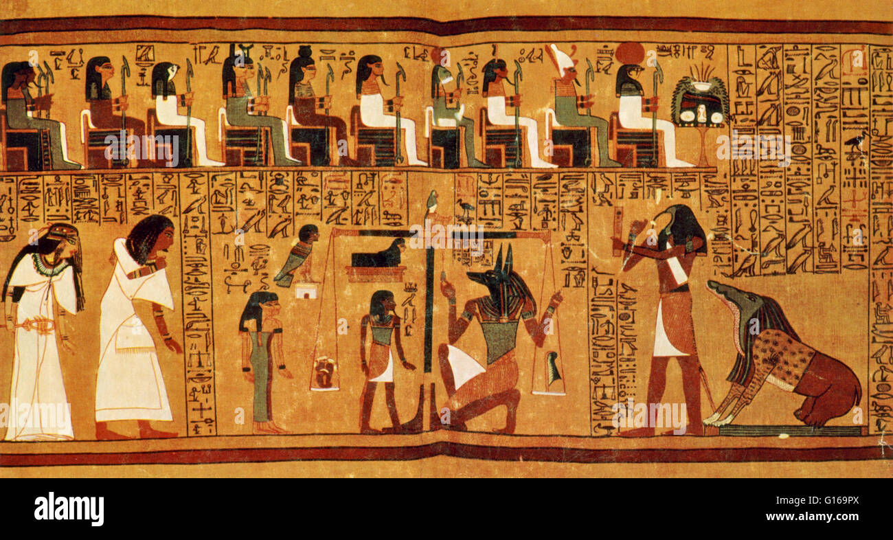 The Papyrus Of Ani Is A Papyrus M Cript Written In