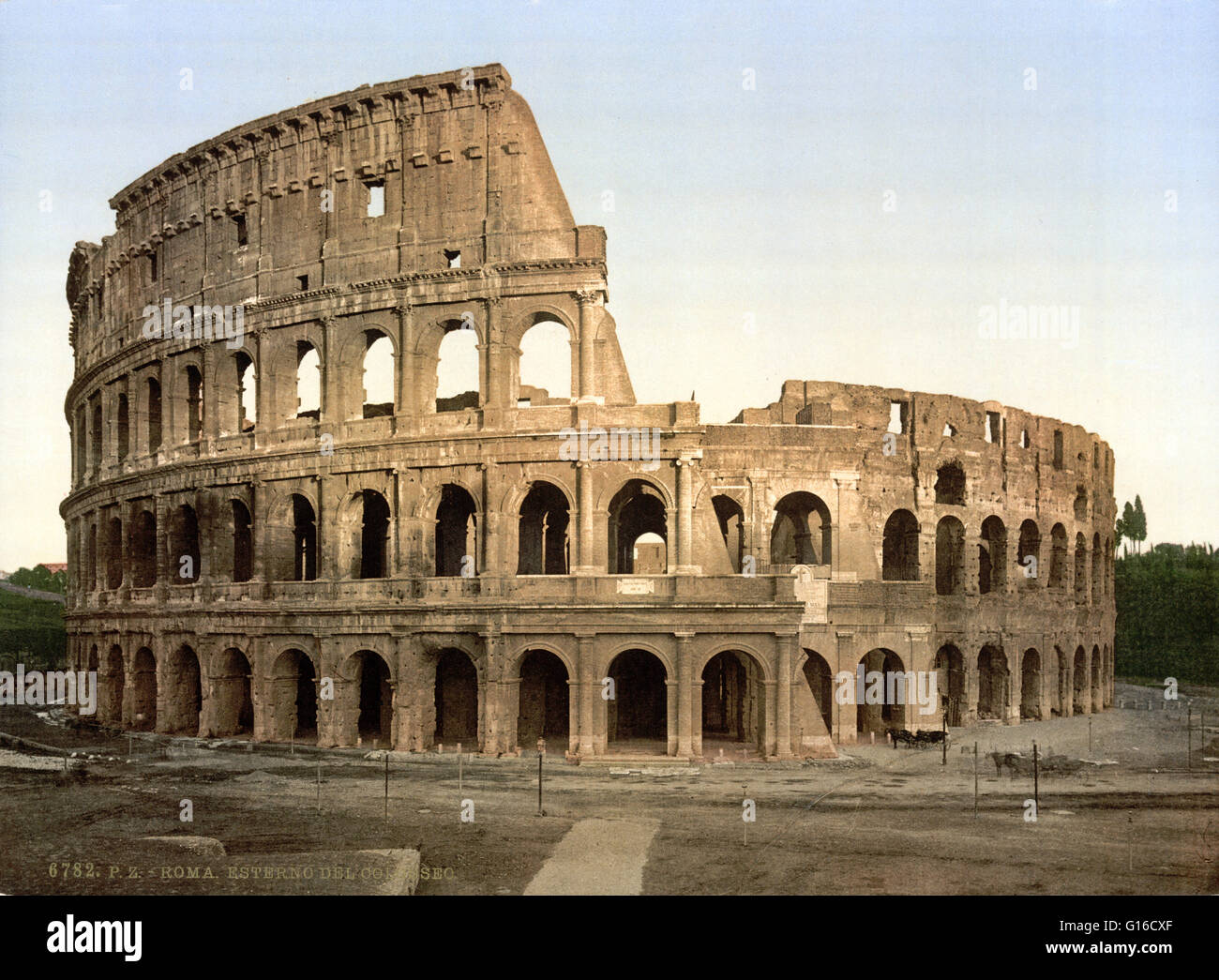 Stock Ancient Rome Live