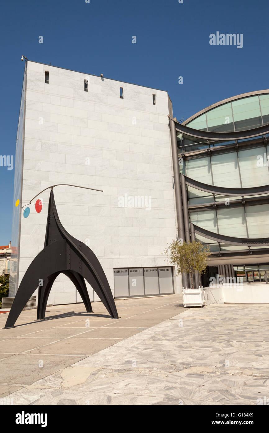 Musée D'art Moderne Et D'art Contemporain De Nice : musée, d'art, moderne, contemporain, Museum, Modern, Contemporary, Musee, D'Art, Moderne, Stock, Photo, Alamy