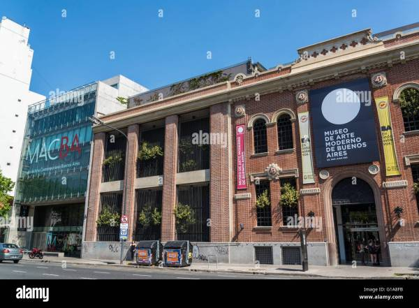 Buenos Aires Museum Of Modern Art Mamba San Telmo Stock 104103087 - Alamy