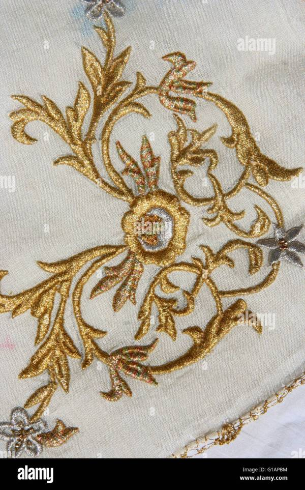 Embroidery Pattern Stock &