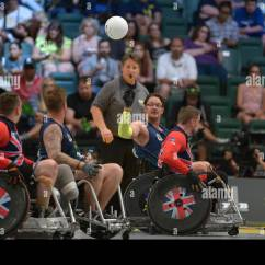 Wheelchair Fight Louis Xiv Chair Rugby Stock Photos And Images Alamy