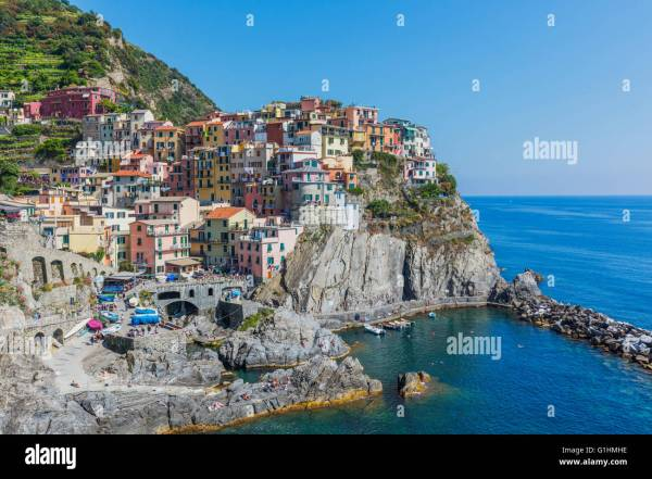 Manarola La Spezia Liguria Italy Manarola is one of