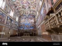 sistine chapel ceiling location