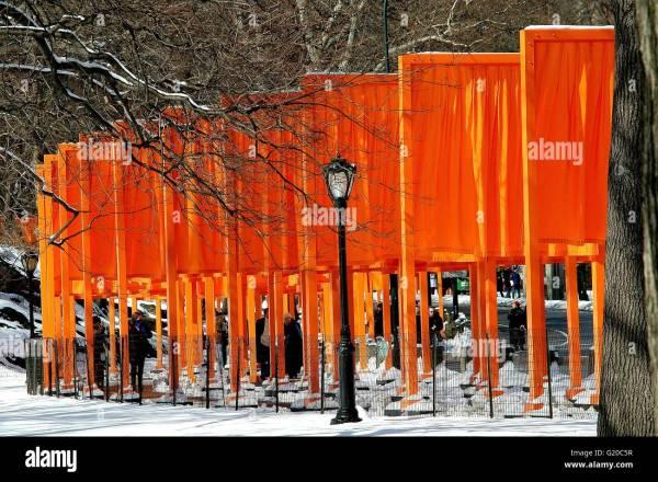 Central Park New York City Art