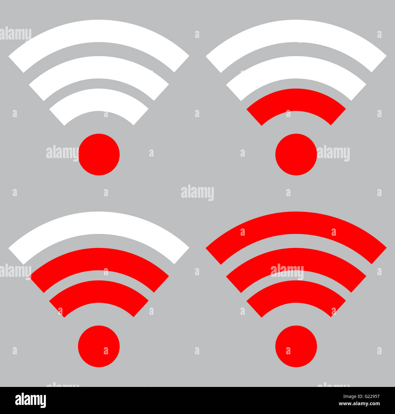 hight resolution of connection wireless and strength wi fi signal internet indicator level wifi vector flat design illustra