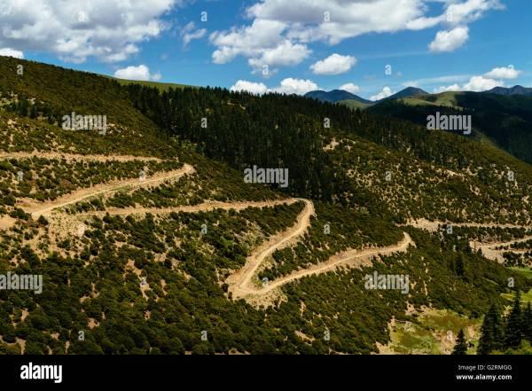 Sichuan Road Stock & - Alamy