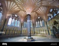 Chapter House Ceiling Cathedral Cathedral Stock Photos ...
