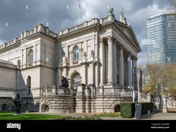 Entrance Tate Britain Art Millbank London England Uk Stock 105218084 - Alamy