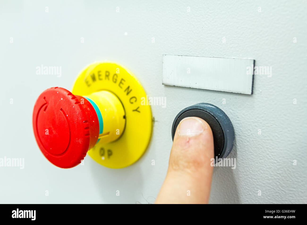 hight resolution of reset fuse box with emergency red shutdown panic button stockreset fuse box with emergency