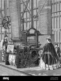 Smith's Power-Loom for weaving tufted pile carpets ...