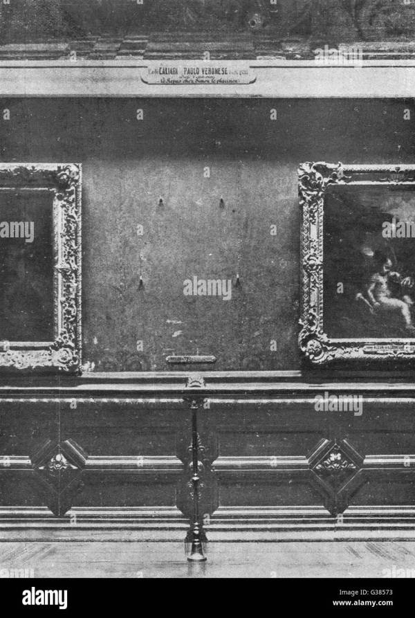 Mona Lisa Black And White Stock & - Alamy