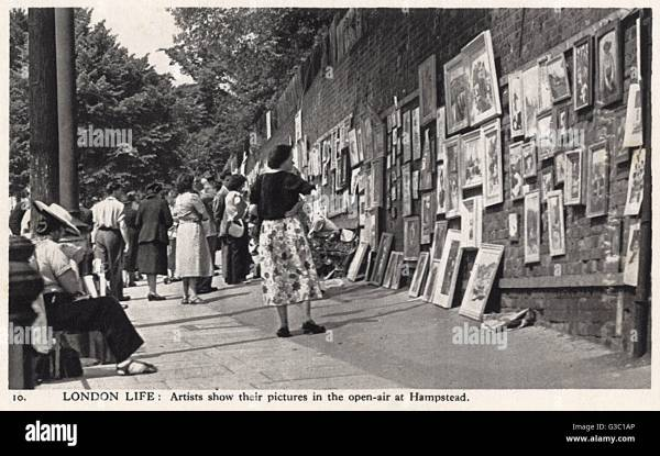 Artists Forties Stock & - Alamy