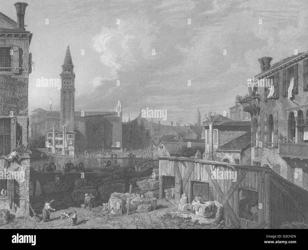 Canaletto Venice Stock & - Alamy