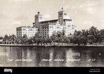 Biltmore Hotel Palm Beach Florida Usa. Date Circa 1940